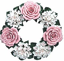Dekorationskranz - Keramik - Porzellankranz -