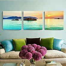 Dekorationsmalerei Wohnzimmer modern Wandbild Sofa