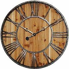 Dekorationsuhren 23 Zoll Große Kreative Holz