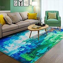 Dekorativ decken modernes teppich quadrate für schlafzimmer wohnzimmer studieren einfach nordic restaurant am bett-C 160x230cm(63x91inch)