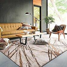 Dekorativ decken modernes teppich quadrate für schlafzimmer wohnzimmer studieren einfach nordic restaurant am bett-B 160x230cm(63x91inch)