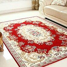 Dekorativ decken modernes teppich-teppiche für schlafzimmer wohnzimmer studieren einfach mittelmeer nordic chinese restaurant bett maschine waschbar-A 160x230cm(63x91inch)