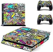 Dekorative Aufkleber für Playstation 4 PS4 auch x