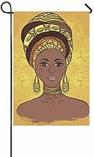 Dekorative Außenfahne, doppelseitig, Afrikanische