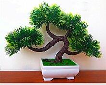Dekorative Blumen Simulation künstliche blumen Künstliche Pflanze Früchte Blume Baum Grün Topf Wohnzimmer Tisch Dekoration Lucky Feng Shui deko (multicolore), 103