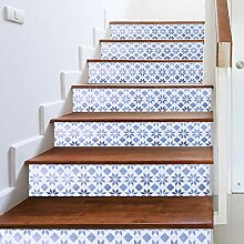 Dekorative Boden Aufkleber Treppe Aufkleber