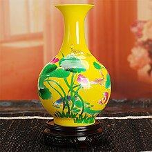 Dekorative Chinesische Porzellan Vase Blumen Vase