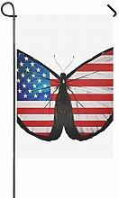 Dekorative Doppelseitige amerikanische Flagge,