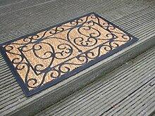 Dekorative Fußmatte, Abtreter, Türmatte, 75x45