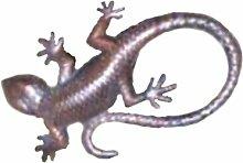 Dekorative Gartenfigur Salamander Gekko Echse Gartendekoration Geschenkidee