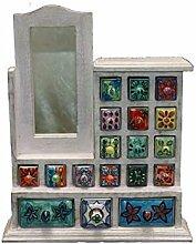 dekorative individuelle Mini-Kommode aus Holz mit