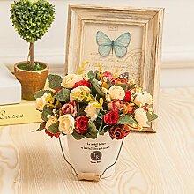 Dekorative Künstliche Blumen Pflanzen Zubehör Kunst Kunsthandwerk Home Garten Dekoration XHOPOS HOME