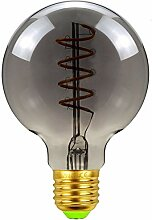 Dekorative Leuchtmittel Glühlampen G80 Ruß