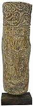 Dekorative Skulptur Holzmaske Handarbei