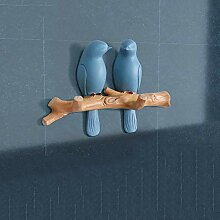 Dekorative Wandhalterung, Dekorative Vögel am Ast