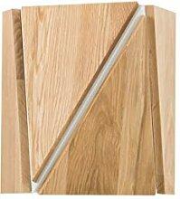 Dekorative Wandlampe Aus Holz Für Ein Wohnzimmer