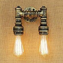 Dekorative Wandlampe des Retro- industriellen