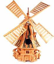 dekorative Windmühle Gartendeko Holz Mühle LGS1 K