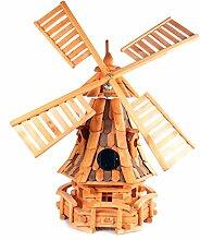 dekorative Windmühle Gartendeko Holz Mühle LGS1 O