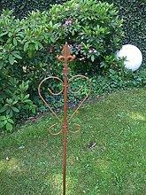 Dekorativer Gartenstab, Rankstab, Rosenstab,