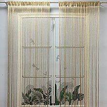 Dekorativer Glitzer-Fadenvorhang, 99,1 x 200,7 cm,