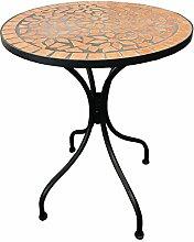 Dekorativer mediteraner Mosaik Tisch Mosaiktisch