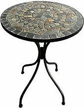 Dekorativer mediteraner Mosaik Tisch Stern Design
