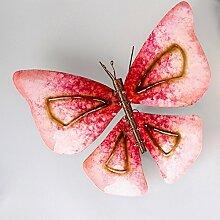 Dekorativer Schmetterling Wanddeko Garten Terrasse