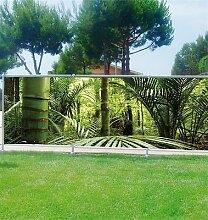 Dekorativer Sichtschutz für Garten, Terrasse und