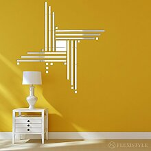 Dekorativer Spiegel POINTS 100 cm, modernes Design