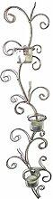 Dekorativer Teelichthalter Wandkerzenhalter für 3