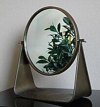 Dekorativer Tischspiegel im Vintage Stil