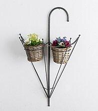 Dekorativer Topfhalter Gartendeko Schirm für