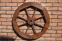Dekoratives Wagenrad 70 cm rustikal