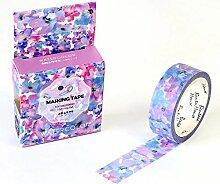 Dekoratives Washi Tape 1/2/3Pcs Aquarell Blume