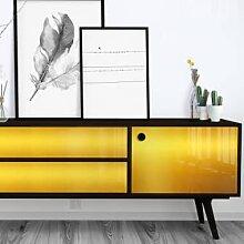 Dekorfolien - Fensterfolie Gold Polished -