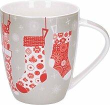 Dekoria Becher Christmas Socks 300ml