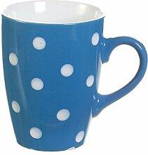 Dekoria Becher Dots blue 300ml Geschenk