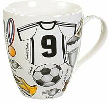 Dekoria Becher Football Becher, Keramik,