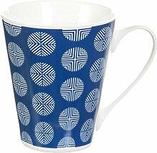 Dekoria Becher Modern Circle blue Geschenk