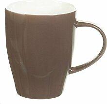 Dekoria Becher Simply brown 300ml Becher, Keramik,
