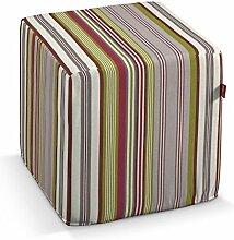 Dekoria Bezug für Sitzwürfel Bezug für Sitzwürfel 40x40x40 cm bun