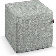 Dekoria Harter Sitzwürfel 40 x 40 x 40 cm grau