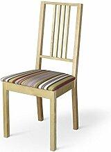 Dekoria IKEA BÖRJE Stuhl, Sitz Pad Cover–Mehrfarbig Streifen