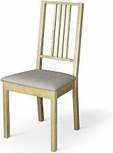 Dekoria IKEA BÖRJE Stuhl, Sitz Pad Cover–Natur Leinen (wichtig: Warm Beige Schatten)