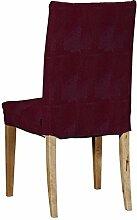 Dekoria IKEA HENRIKSDAL Stuhl, Cover–Burgund Chenille