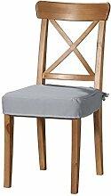 Dekoria IKEA INGOLF Stuhl Sitz Pad Cover–Grau