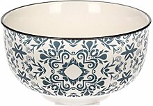Dekoria Schüssel Maroccan Ink Schüssel, Keramik