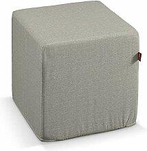 Dekoria Sitzwürfel 40 × 40 × 40 cm grau-beige
