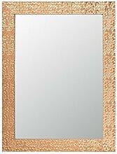 Dekoria Spiegel Glam 62x2x82cm copper Spiegel, Wandspiegel, Dekoration, Wanddekoration Geschenk